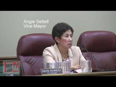 Sherry Hamlin has a question for Vice Mayor