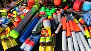 Bait fishing with bobbers - Float fishing - how to catch fish with bobber