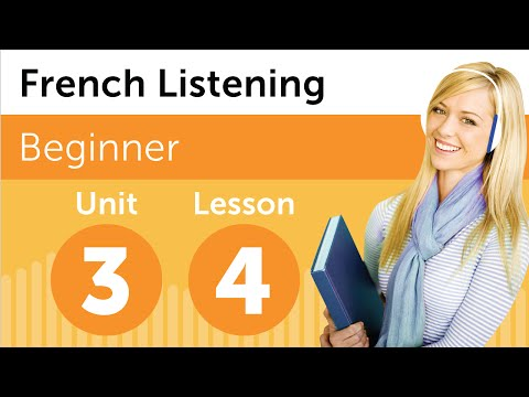 French Listening Comprehension - Talking About Your Family in French