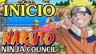 Naruto Ninja Council (GBA) - O Início em Português