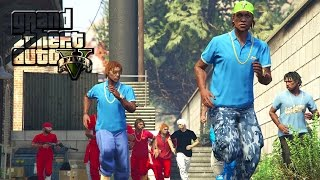 GTA 5 | BLOODS VS. CRIPS EP. 13 [HQ]