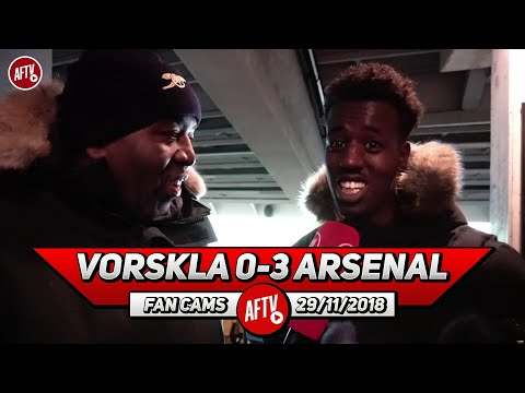 Vorskla 0-3 Arsenal | Guendouzi Was Excellent! He Controlled The Midfield!