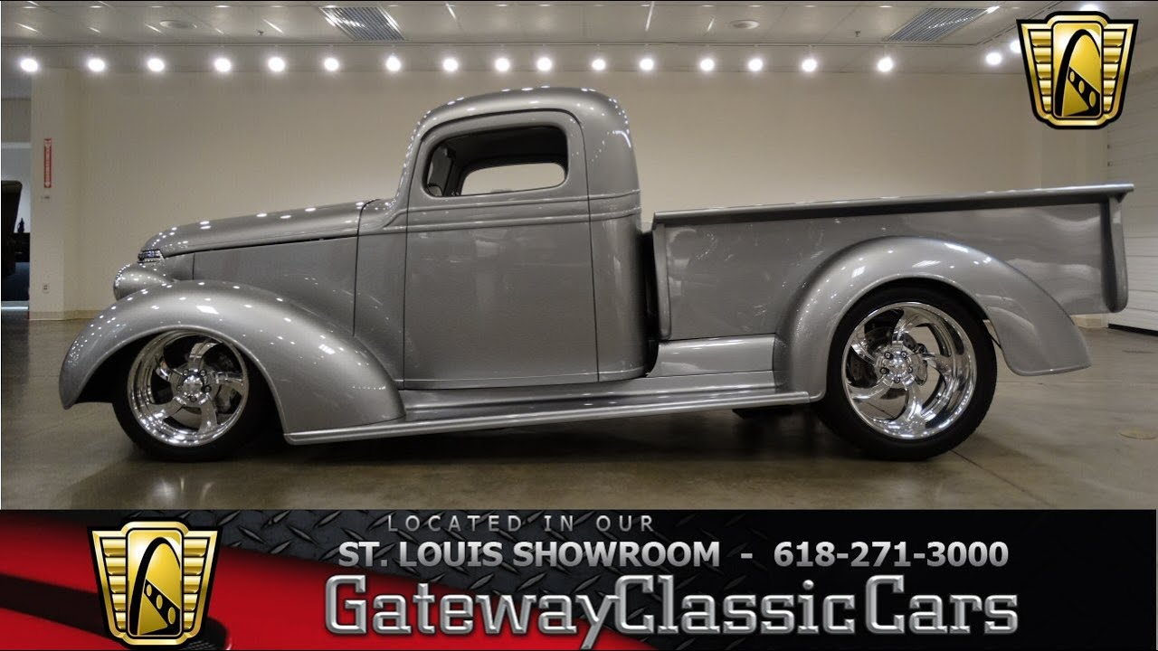 1938 Chevrolet Pickup - Gateway Classic Cars St. Louis - #6727 - YouTube