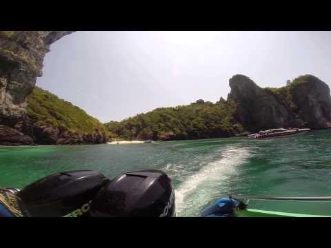 Krabi: 2014 Koh Phi Phi Don Nui Bay GoPro (unedited)