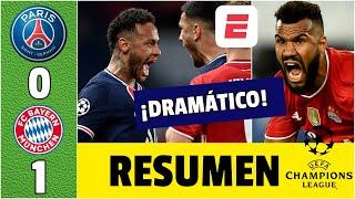 PSG 0-1 Bayern Munich. ¡PARTIDAZO! Neymar, Mbappé y Keylor eliminan al CAMPEÓN. | Champions League