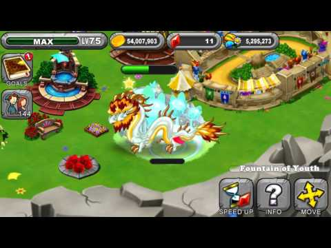 DragonVale Fountain Of Youth Turns A Double Leap Year Dragon Into A Baby Dragon