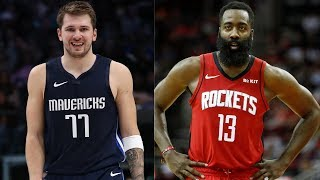 Download Luka Doncic (41 PTS, 6 REB, 10 AST) vs. James Harden (32 PTS, 9 REB, 11 AST) Battle in MVP Showcase Mp3 and Videos