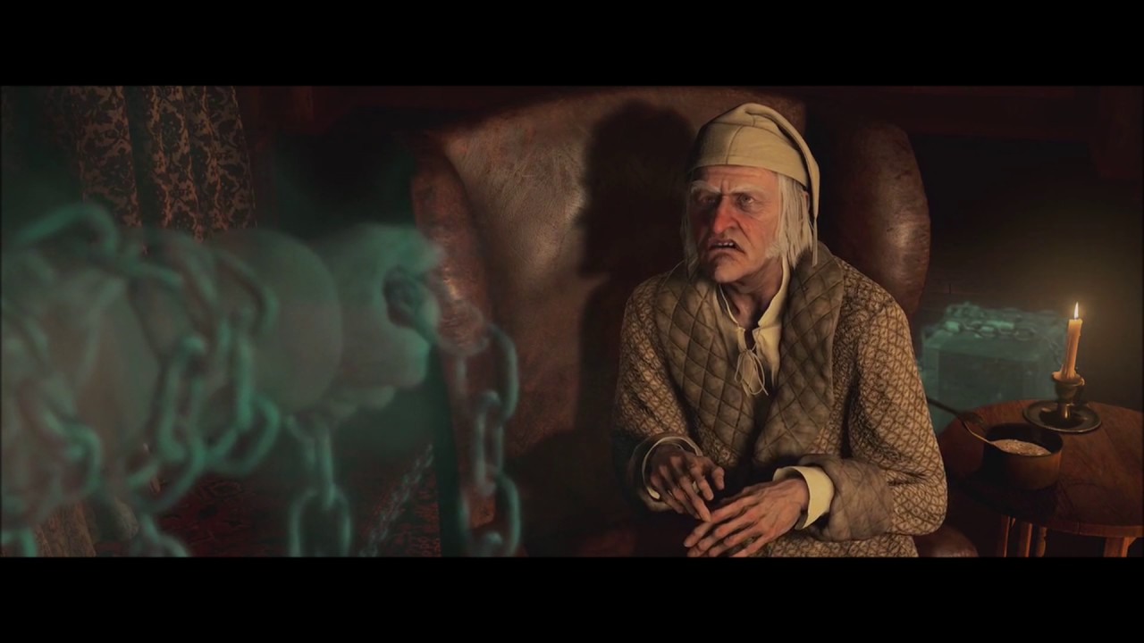Christmas Carols Youtube.A Christmas Carol 2009 Marley S Ghost Hd 1080p Part 1