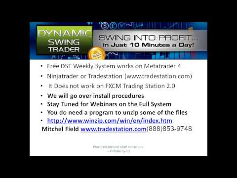 Dynamic Swing Tader Install Video Free Forex Weekly Trading