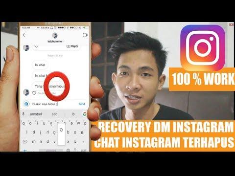 Mengembalikan DM / Chat / Pesan Instagram Yang Terhapus Dengan Android & iOs Terbaru ! XTX Tutorial.