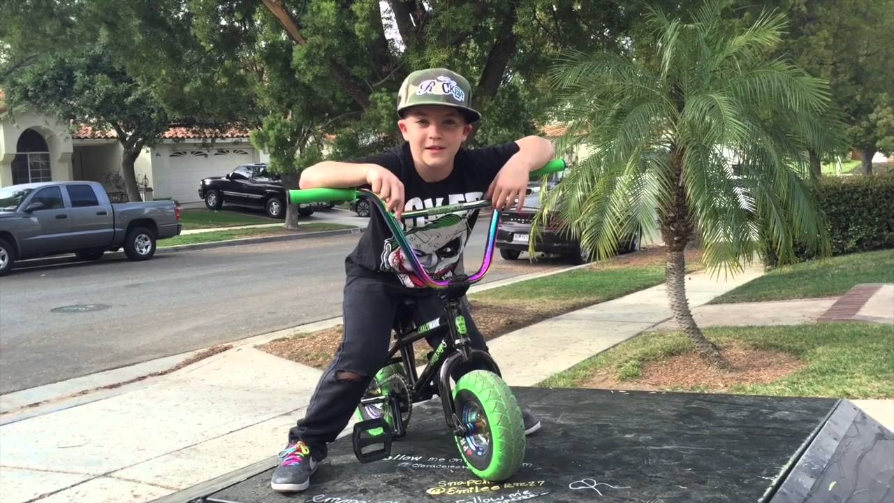 Mini Bmx Giveaway Rocker Youtube