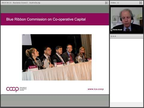 Blueprint for a Co-operative Decade with Charles Gould, International Co-operative Alliance