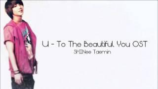 Download Mp3 U - To The Beautiful You Ost  Shinee Taemin