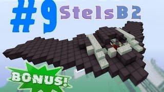 видео: Minecraft - как построить stels (самолёт)? (Bonus #9)
