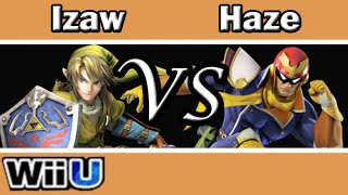 Smash 4 Izaw(Link) vs Haze(C.Falcon) Money Match