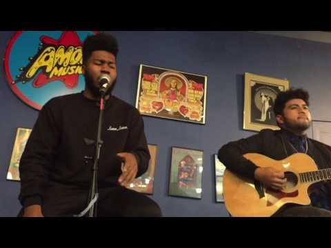 Shot Down- Khalid (Acoustic Set)
