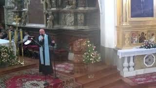 Misje parafialne - nauka dla I LO w Tarnowie, 11 września 2017, godz. 10.00