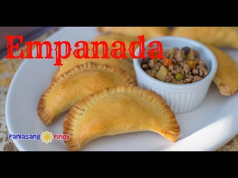 Pork Empanada | Filipino Empanada | Empanadang Baboy | Pinoy Ground Pork Enpanadas