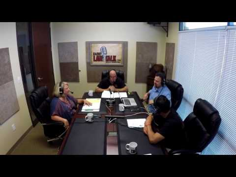 Airline Seats and Kanye West Radio Law Talk 8-5-17