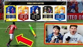 EXTREM GEILE 11 METER FUT DRAFT CHALLENGE ⛔️⚽ FIFAGAMING vs BRUDER - FIFA 17 ULTIMATE TEAM (DEUTSCH)