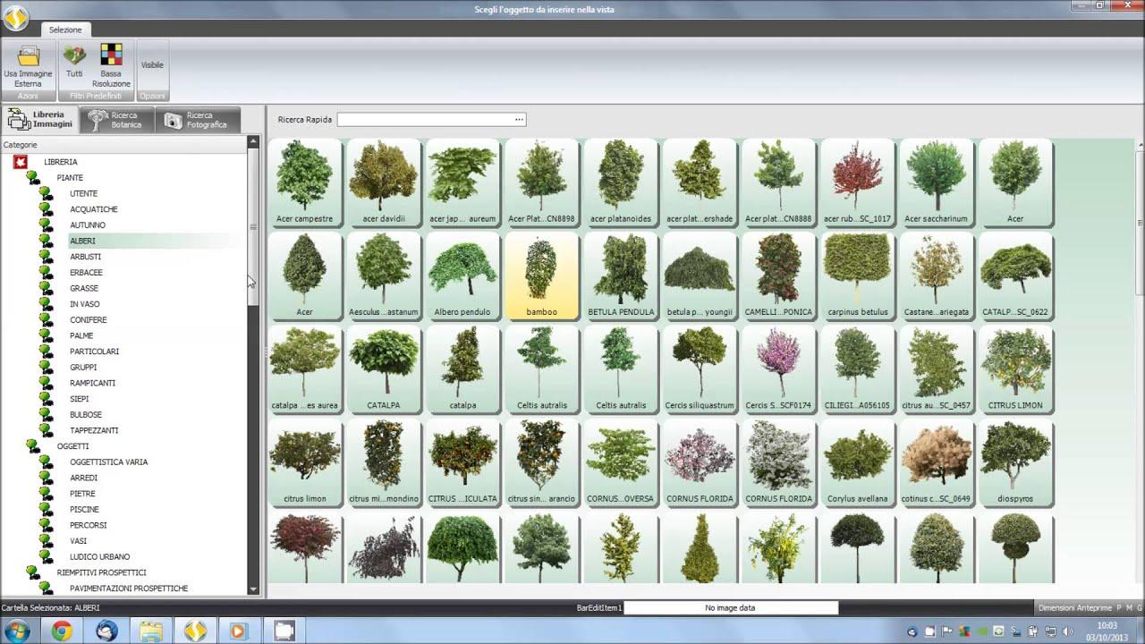 Florinfo Sevis Progettazione Giardini Descrizione Database E  #6A4836 1920 1080 Programma Per Progettare Cucine In 3d