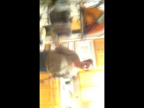 Mrs. MIYAGI Karate chops tongan kids ass for scaring her