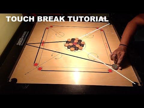 Carrom Touch Break Tutorial | Strike & Pocket |