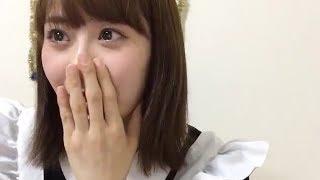 NGT48 西潟茉莉奈 SHOWROOM配信 (2017/07/28) ダイジェスト。 母からフ...