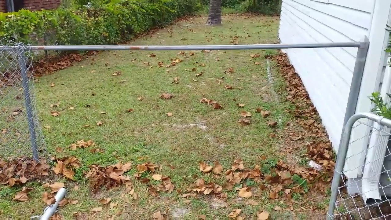 How To Install A Gate Into An Existing Chain Link Fence You