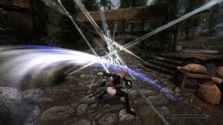 Best Skyrim Attack Animation (Mixed)