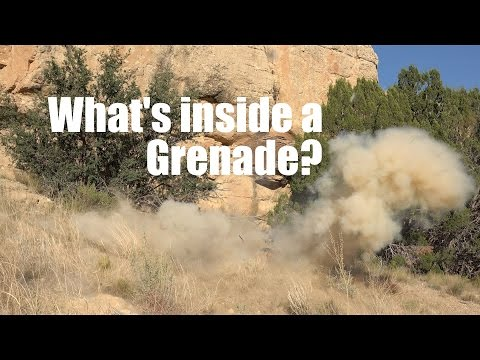 Whats inside a Grenade?