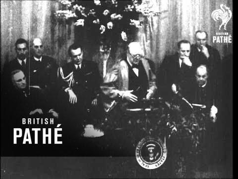 churchill's-speech-at-fulton-(1945)