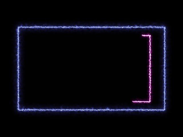 Glowing Box - Free Motion Graphics