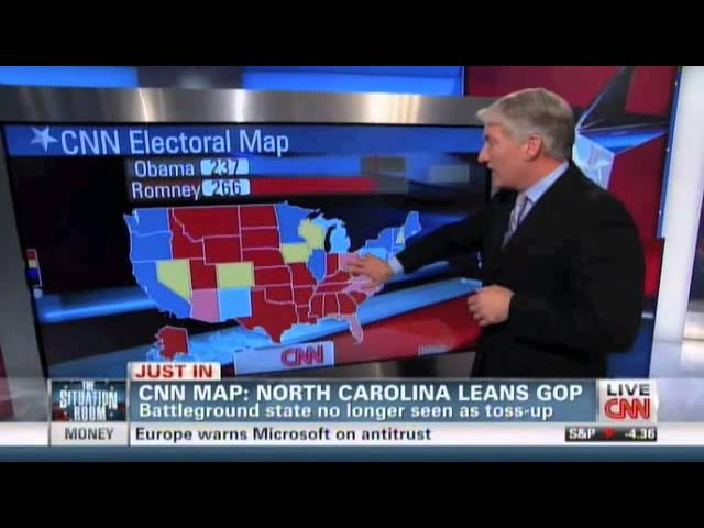 CNN Electoral map With Loop Control YouTube for Musicians