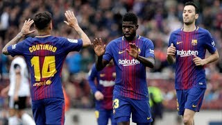 Barcelona vs Valencia [2-1], La Liga, 2018 - Match Review