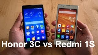 Compared: Huawei Honor 3C versus Xiaomi Redmi 1S Thumbnail