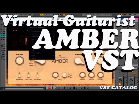 Virtual Guitarist AMBER lll Best VST Synth Review