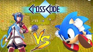 Босс синий ёжик и его красные товарищи в CrossCode