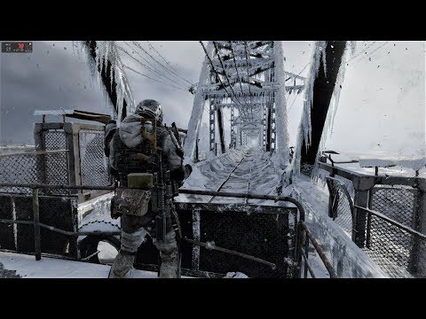 Metro Exodus - PART 9 END of the GAME - Winter Novosibirsk - - ASUS ROG GL703GM GTX1060 6GB