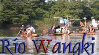 Río Coco o Wangki RAAN Nicaragua manfut