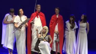 АкиБан 2015 — Сценка внеконкурсная — «Важен Дан» Ижевск — «Приключение Алисы Селезневой в неожиданны