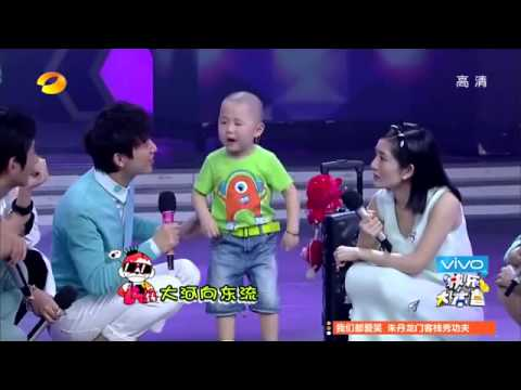 Chinese 3 Year Old Kid Zhang Junhao Acting, Singing and Dancing