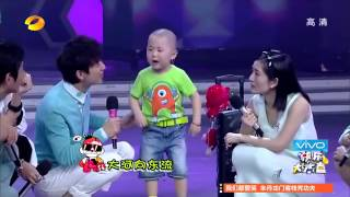 Chinese 3 Year Old Kid Zhang Junhao Acting, Singing and Dancing
