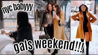 VLOG: NYC with my mom!  fun gals trip ;)