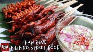 ihaw ihaw Filipino Street Food | isaw adidas helmet | Pang Negosyo ihaw ihaw Recipe