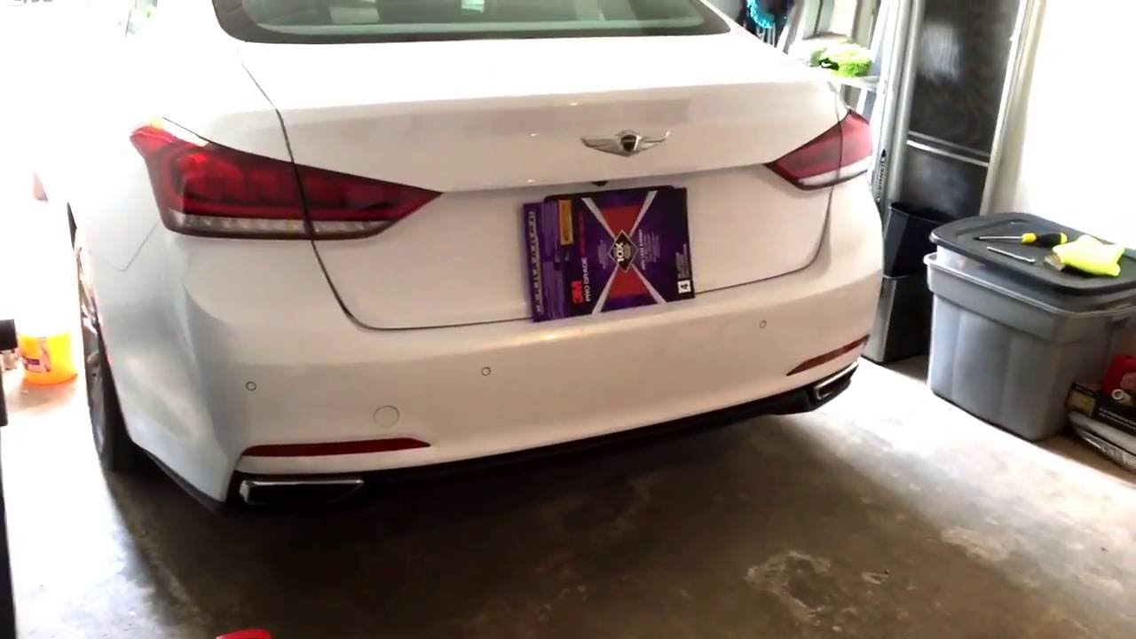 Emblems Removed Kdm Genesis Wings Installed Youtube