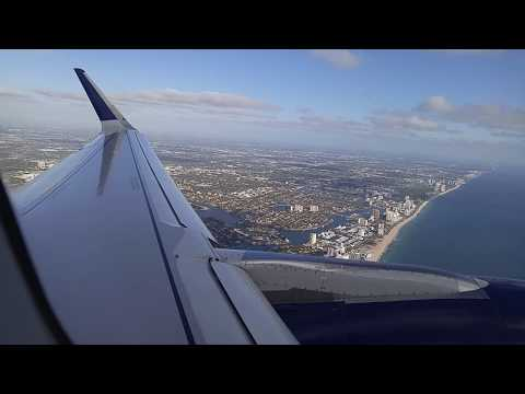 Delta Air Lines Airbus A321 Departure from Fort Lauderdale