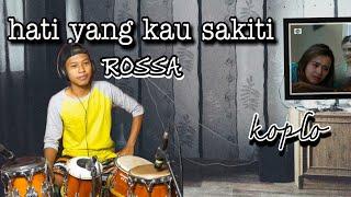 Download lagu ku menangiiissss   HATI YANG KAU SAKITI - versi KOPLO (cover)