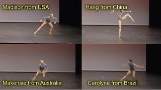 Ballet Comparison Which Bow Dancer Was Best Contemporary Dance