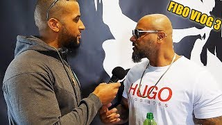 MASSIV RECHNET AB! (Bushido Situation) & Talk mit Ahmad Patron Miri! FIBO ACTION #3 - Leon Lovelock